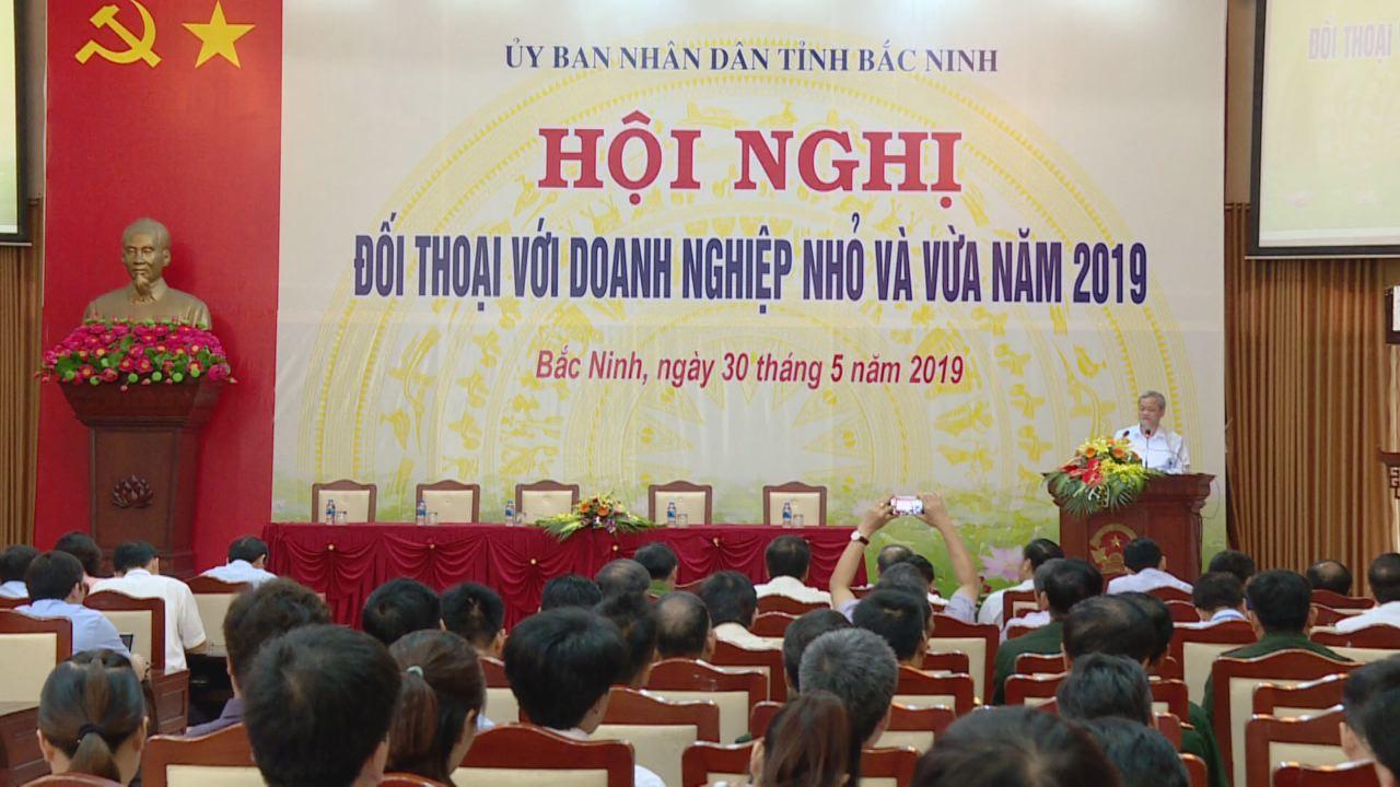 """Hiệp hội doanh nghiệp nhỏ và vừa tỉnh Bắc Ninh tổ chức Hội nghị  """"Đối thoại doanh nghiệp nhỏ và vừa năm 2019""""."""