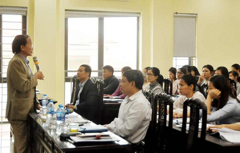 Hơn 300 đại diện doanh nghiệp Tiên Du đối thoại về thuế và bảo hiểm xã hội