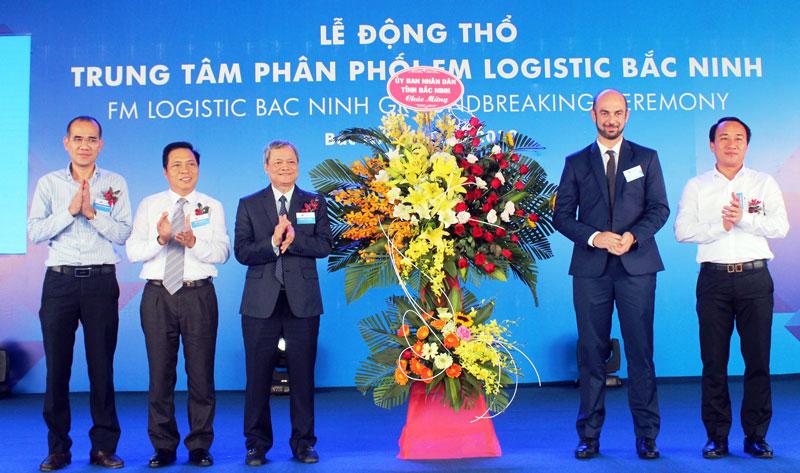 Xây dựng Trung tâm phân phối FM Logistic Bắc Ninh