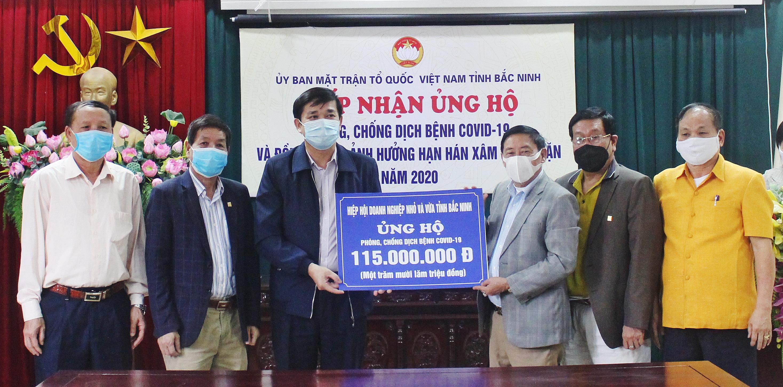 Hiệp hội DNNVV tỉnh Bắc Ninh chung tay phòng, chống dịch
