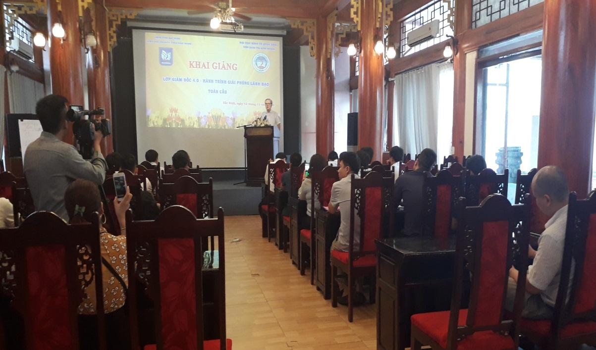 Hiệp hội DNNVV tỉnh Bắc Ninh khai giảng lớp Giám đốc 4.0 – Hành trình giải phóng lãnh đạo toàn cầu