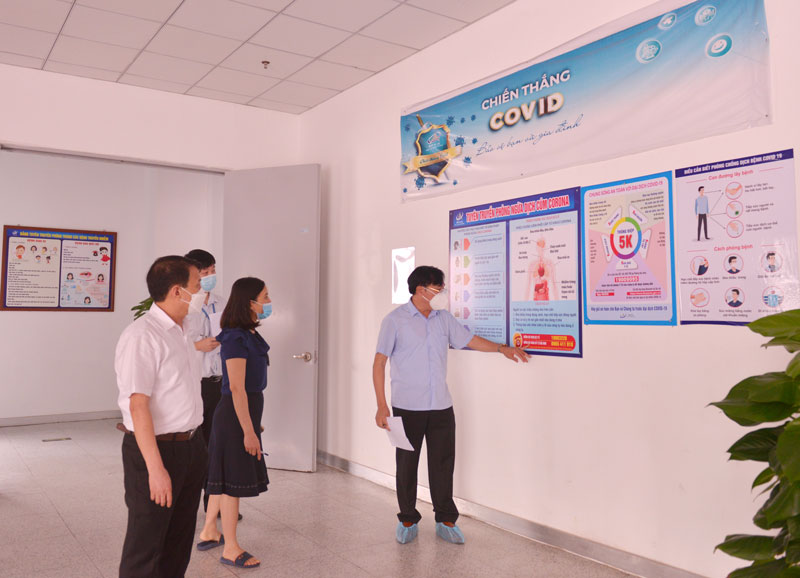 Siết chặt công tác phòng, chống dịch COVID trong các KCN
