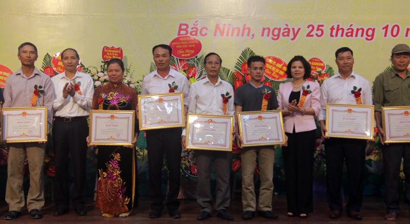 Biểu dương các chủ trang trại tiêu biểu tỉnh Bắc Ninh