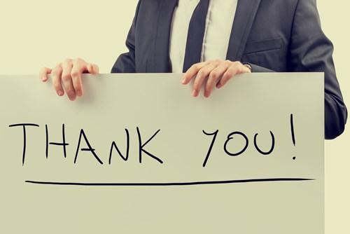 Thư cảm ơn